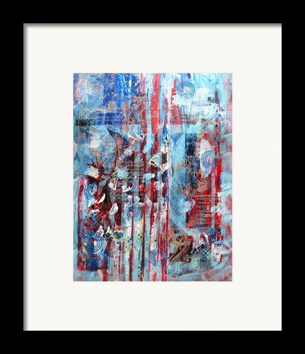 American Tribute Framed Print By David Raderstorf