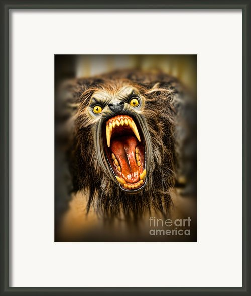 American Werewolf Framed Print By Paul Ward