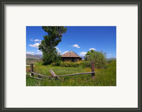 Americana Farm Framed Print By Mark Smith