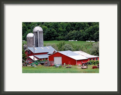 Americas Heartland Framed Print By Digiart Diaries By Vicky Browning