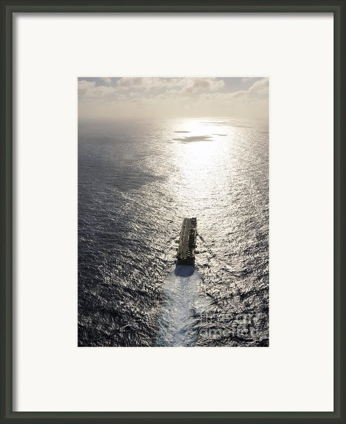 Amphibious Assault Ship Uss Boxer Framed Print By Stocktrek Images