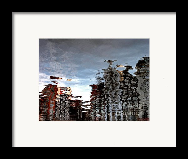Amsterdam Reflections Framed Print By Andy Prendy