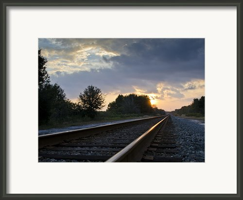 Amtrak Railroad System Framed Print By Carolyn Marshall