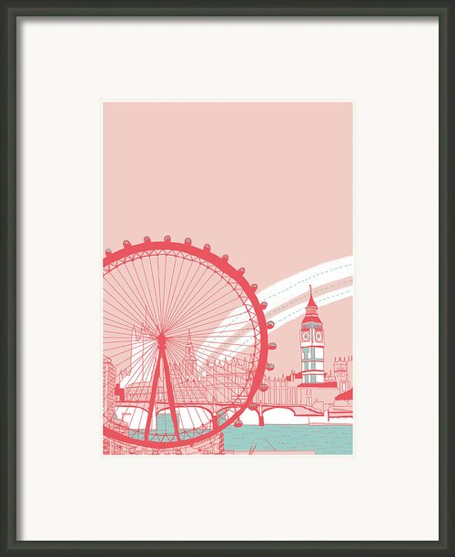 Amusement Park Framed Print By Thanks Love Happy Peace Smile