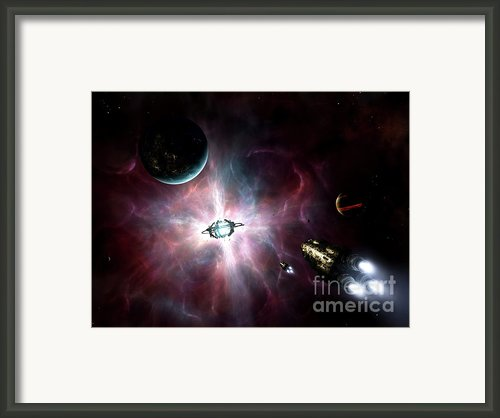 An Enormous Stellar Power Framed Print By Brian Christensen