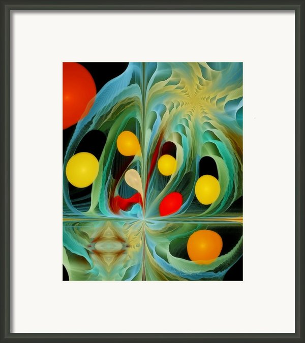 An Infinite Potential Framed Print By Gayle Odsather