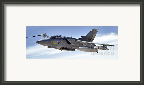 An Raf Tornado Gr-4 Takes On Fuel Framed Print By Stocktrek Images