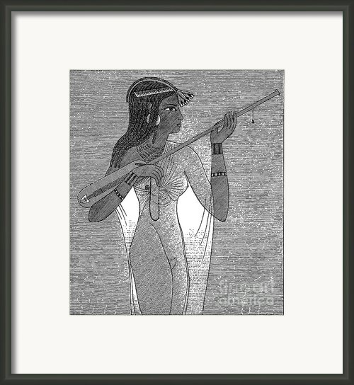Ancient Egypt: Music Framed Print By Granger