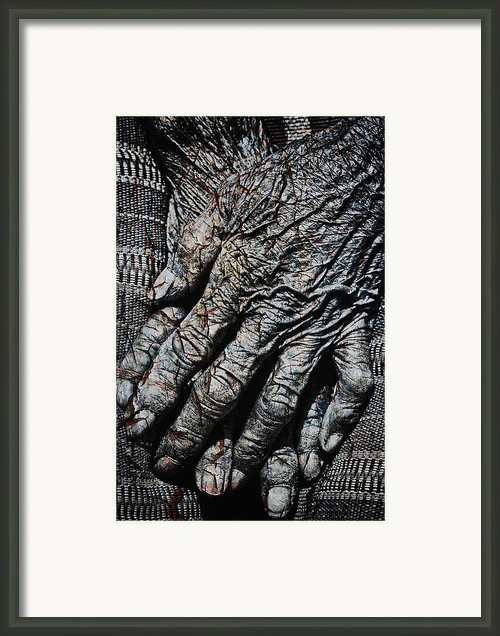 Ancient Hands Framed Print By Skip Nall