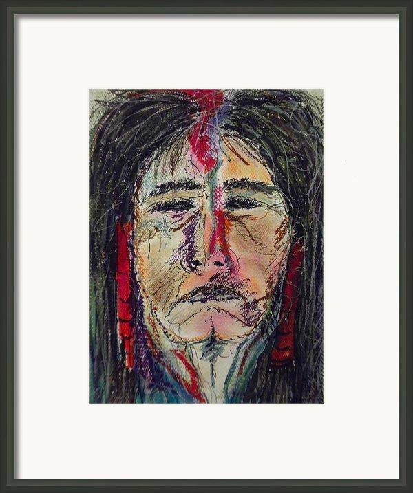 Ancient One Framed Print By Nashoba Szabol