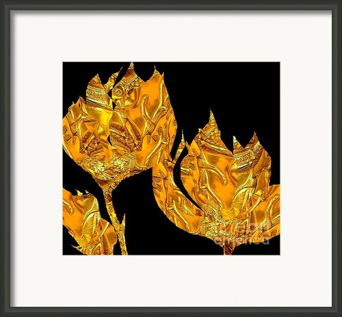 Ancient Roses 2 Framed Print By Navo Art