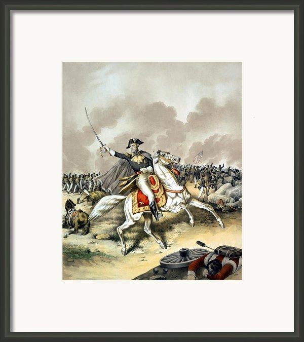 Andrew Jackson At The Battle Of New Orleans Framed Print By War Is Hell Store