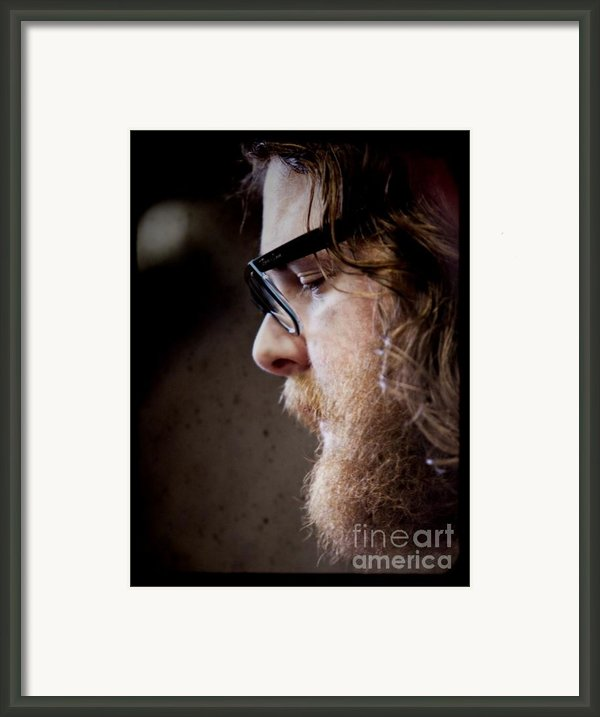 Andy Hull Of Manchester Orchestra Framed Print By Dustin K Ryan