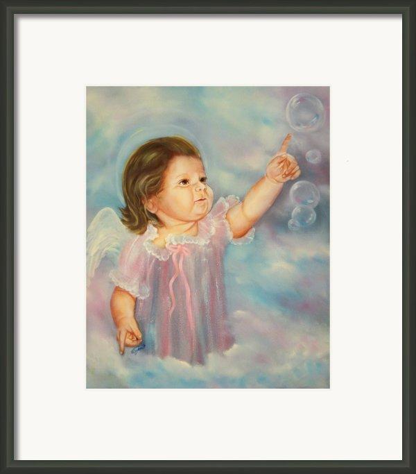 Angel Baby Framed Print By Joni Mcpherson