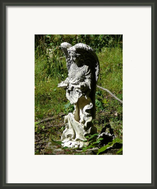 Angel Framed Print By Dagmar Ceki