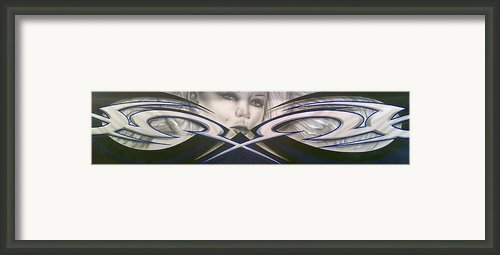 Angel Eyes Framed Print By Mike Royal