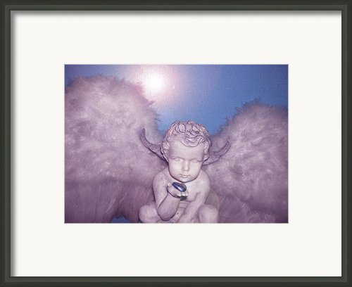 Angel-heart Framed Print By Ramon Labusch