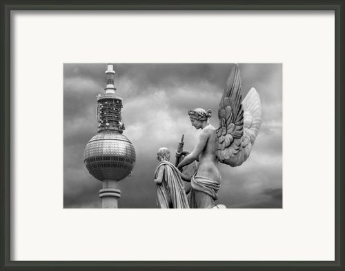 Angel In Berlin Framed Print By Marc Huebner
