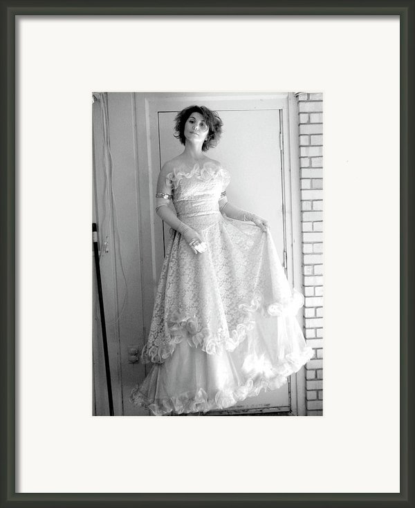 Angel In My Backyard Framed Print By James W Johnson