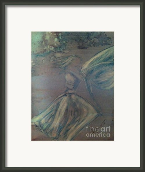 Angel In Wind Framed Print By Joyce Auteri