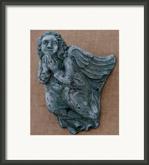 Angel Framed Print By Katia Weyher