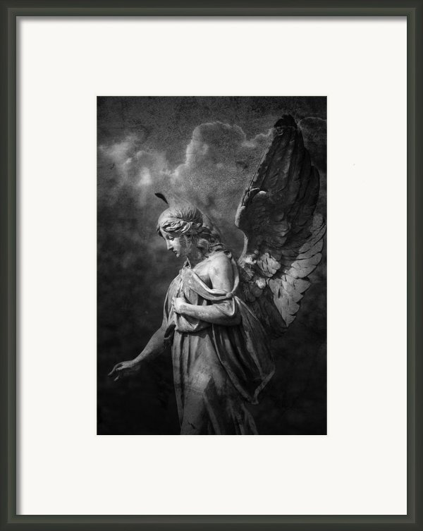 Angel Framed Print By Marc Huebner