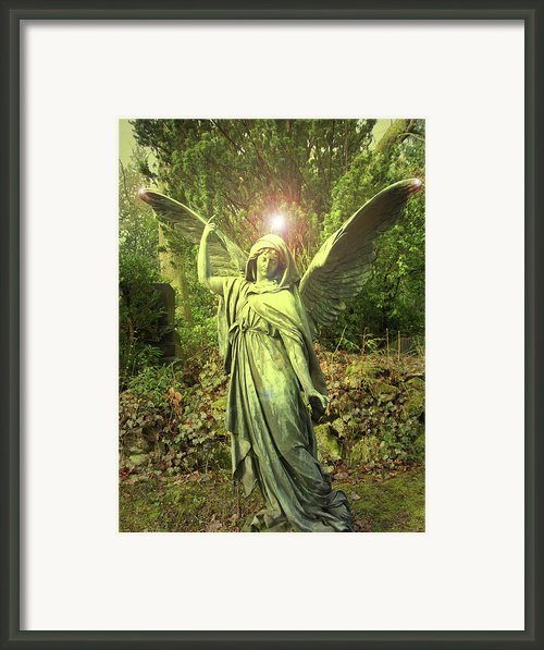 Angel Of Alliance No. 01 Framed Print By Ramon Labusch