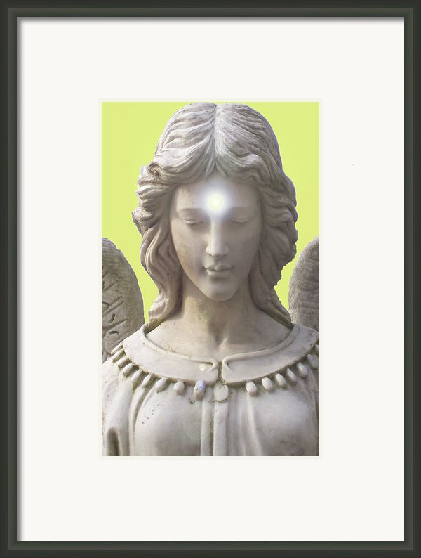 Angel Of Devotion No. 12 Framed Print By Ramon Labusch
