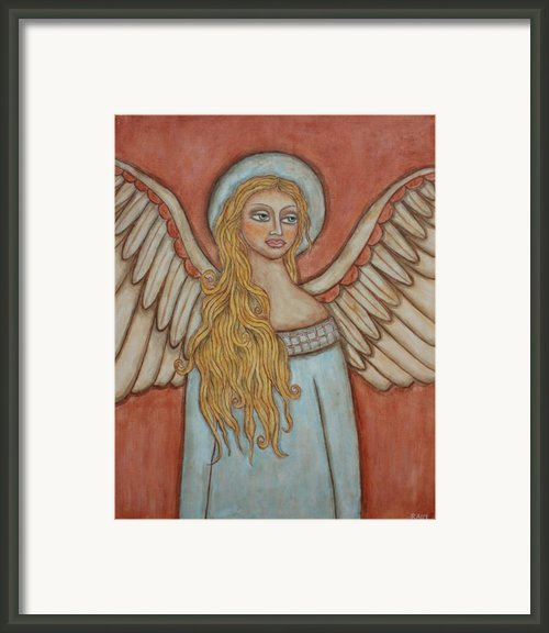 Angel Of Liberation Framed Print By Rain Ririn