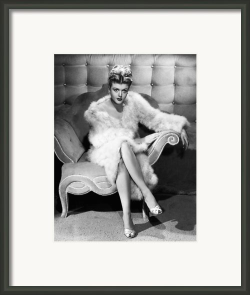 Angela Lansbury, 1946 Framed Print By Everett