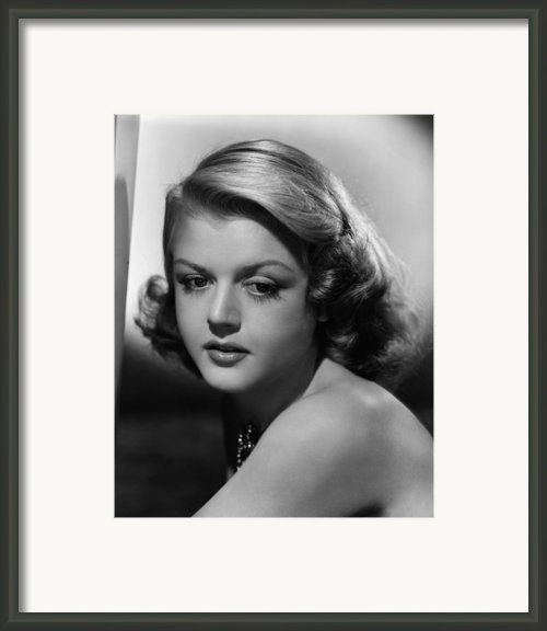Angela Lansbury, 1948 Framed Print By Everett