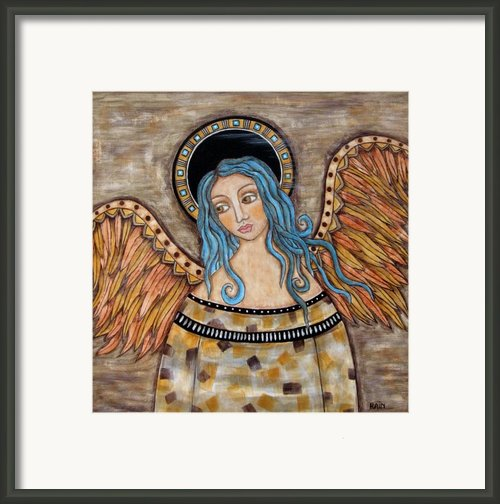 Angelica Framed Print By Rain Ririn