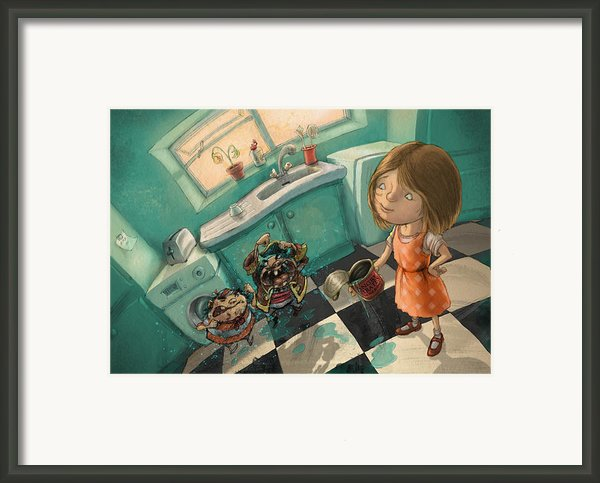 Angry Pirates Framed Print By Andy Catling