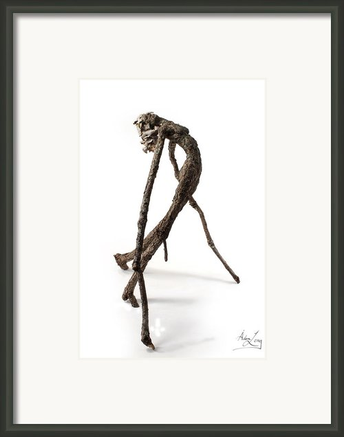 Anguish Framed Print By Adam Long