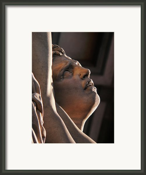 Anguish Framed Print By Angela Wright