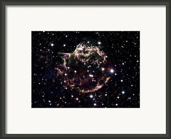 Animation Of A Supernova Explosion Framed Print By Harvey Richer
