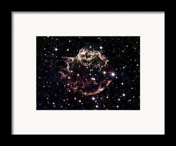 Animation Of A Supernova Explosion Framed Print By Harvey Richer