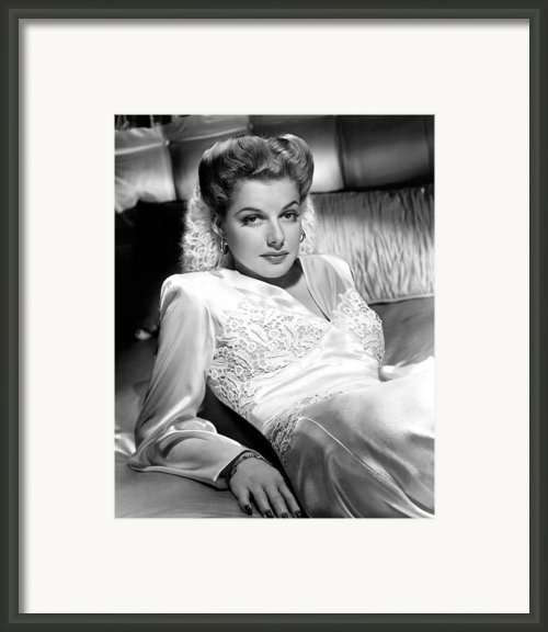 Ann Sheridan, 1943 Framed Print By Everett