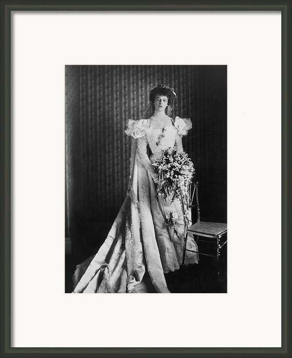 Anna Eleanor Roosevelt Framed Print By Granger