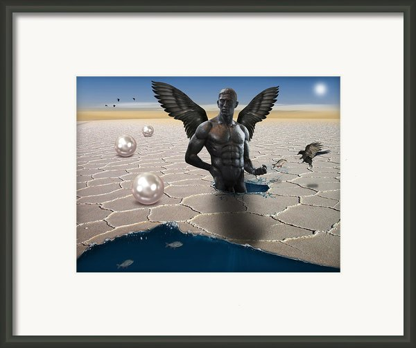 Another Side Of Dream Framed Print By Mark Ashkenazi