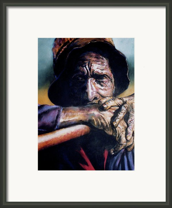 Anticipation Framed Print By Curtis James