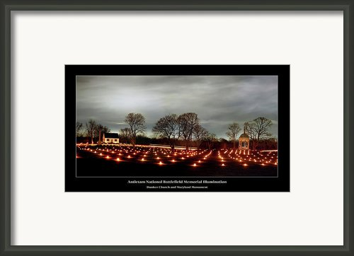 Antietam Panorama Framed Print By Judi Quelland