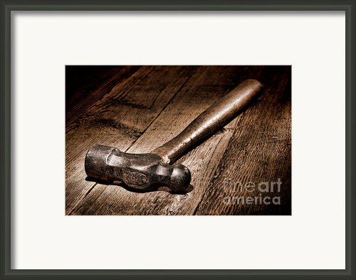 Antique Blacksmith Hammer Framed Print By Olivier Le Queinec