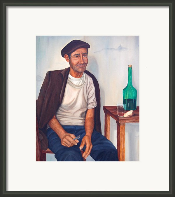 Antonio Framed Print By Annajo Vahle