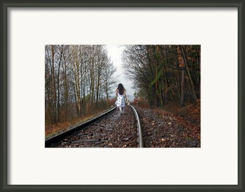 Anyplace... Anywhere... Anytime Framed Print By Renata Vogl
