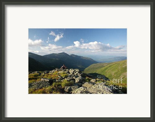 Appalachian Trail  - White Mountains New Hampshire Framed Print By Erin Paul Donovan