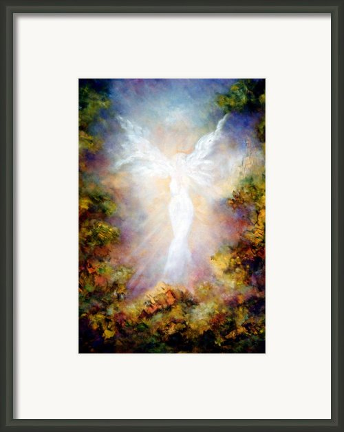 Apparition Ii Framed Print By Marina Petro