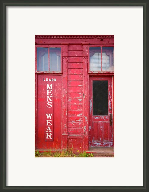 Appealing Apparel Framed Print By Elisabeth Van Eyken
