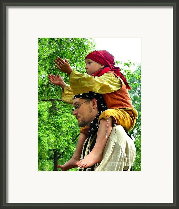 Applauding The Juggling Act Framed Print By Julie Dant