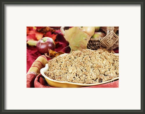 Apple Crisp Framed Print By Stephanie Frey